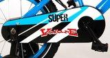 Volare Super Blauw 14 Inch Jongensfiets 95% afgemonteerd - 91431_