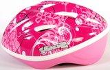 Volare Fiets-Skatehelm Deluxe Roze Bloemen_