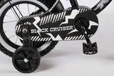 Volare Black Cruiser 12 Inch Jongensfiets - 21201_