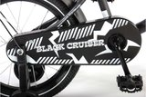 Volare Black Cruiser 16 Inch Jongensfiets - 21602-CH_