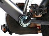 Volare Thombike Satin Grey Red 12 Inch Jongensfiets 95% afgemonteerd - 91202_