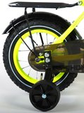 Volare Thombike Neon Geel 12 Inch Jongensfiets 95% afgemonteerd - 91201_