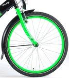 Volare Thombike City Shimano Nexus 3 24 Inch Jongensfiets Satin Black Green 95% afgemonteerd - 82440_
