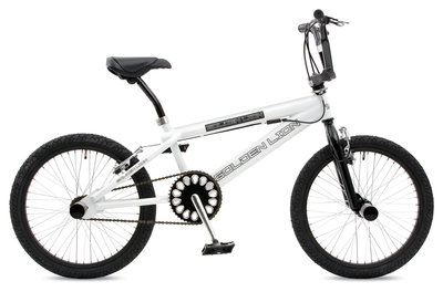 Golden Lion 20 Freestyle bike Lux White
