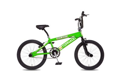Tornado Freestyle bike lux groen