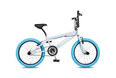 Tornado Freestyle bike lux licht blauw (babyblauw banden)
