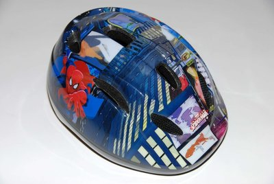 Marvel Ultimate Spiderman Fiets-Skatehelm - 552