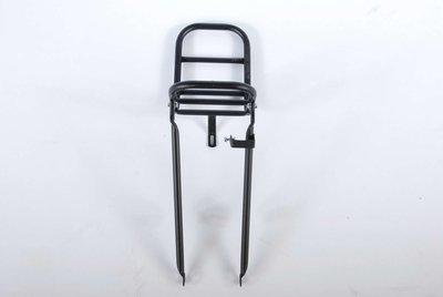 Fietsrek Mat Zwart voor Fiets 24 Inch - 12499B