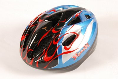 Volare Fiets-Skatehelm Deluxe Glossy Blue